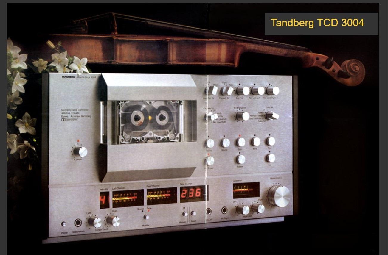 Tandberg, hi-fi