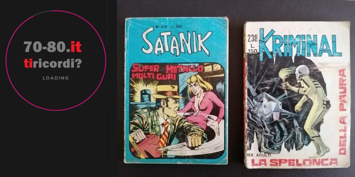 Satanik, Kriminal, Bunker, Magnus