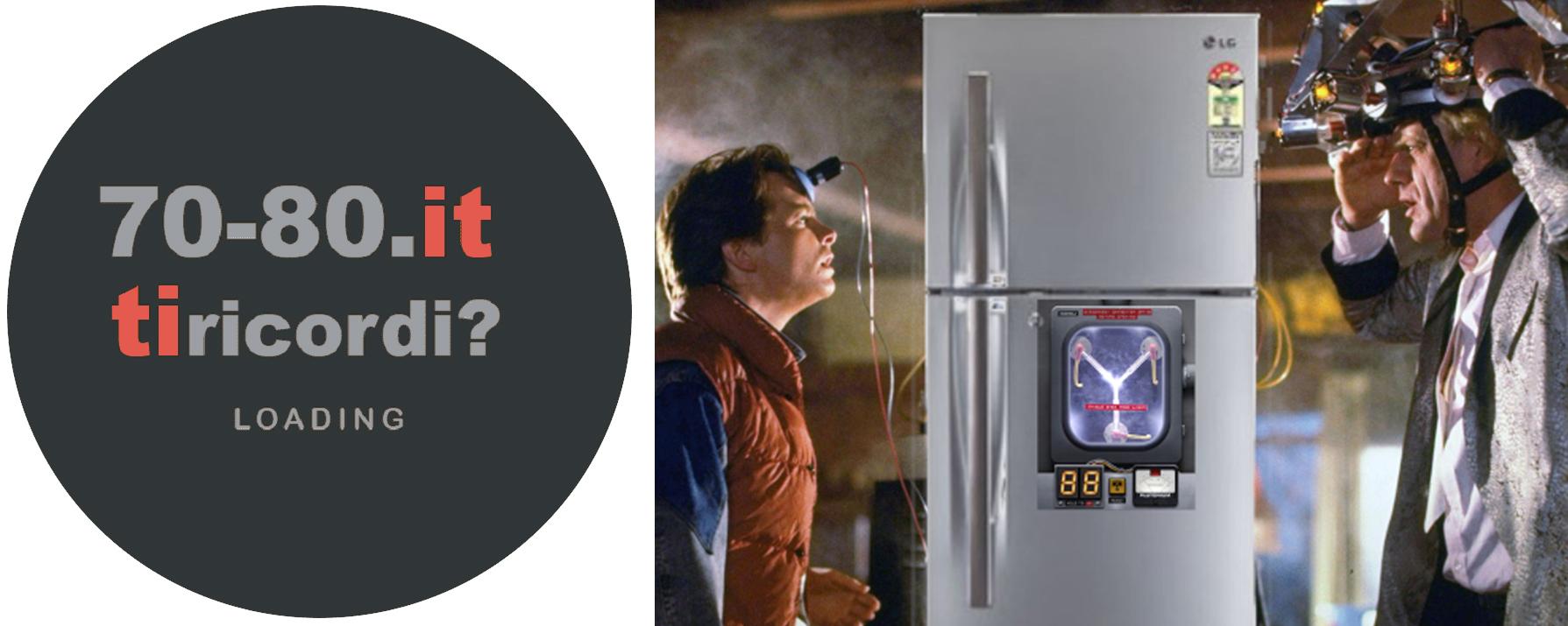Ritorno al Futuro frigorifero