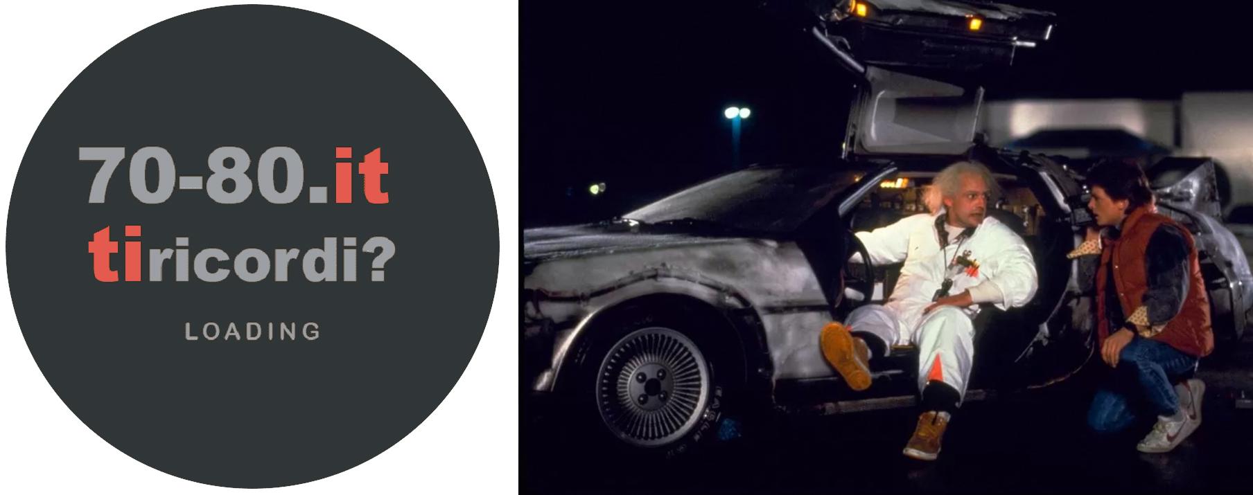 DeLorean Marty e Doc